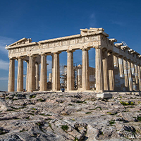 National monument of Greece - Acropolis of Athens