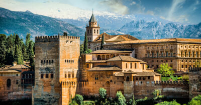 National monument of Spain - Alhambra Palace