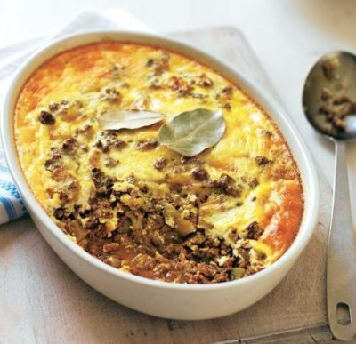 National Dish of South Africa - Bobotie