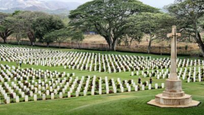 National monument of Papua New Guinea - Bomana War Cemetery