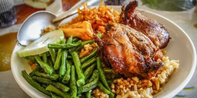 National Dish of Suriname - Chicken and rice