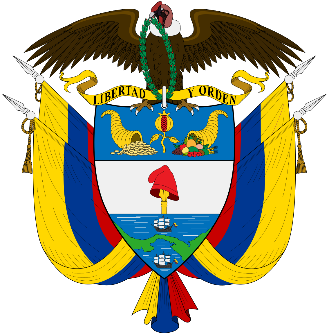 National emblem of Colombia