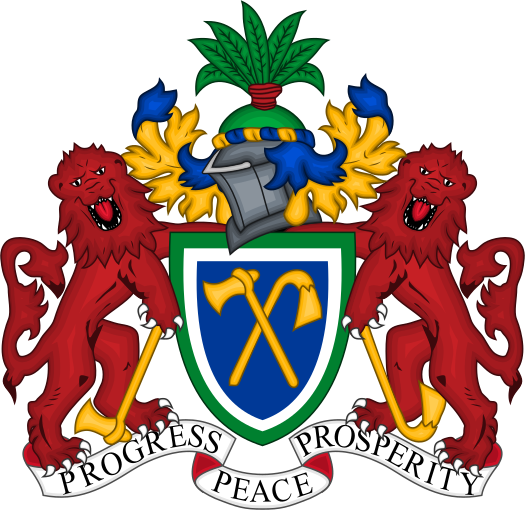 National emblem of Gambia