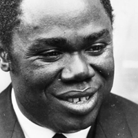 Founder of Central African Republic