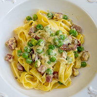 National Dish of Holy See (Vatican City) - Fettuccine alla Papalina.