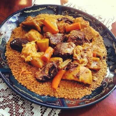 National Dish of Senegal - Fish and Rice Thiéboudienne
