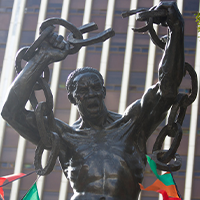 National monument of Zambia - Freedom Statue