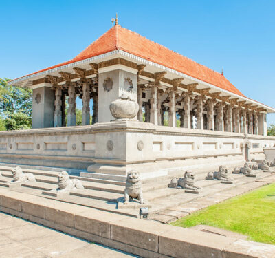 National monument of Sri Lanka - Independence Memorial Hall