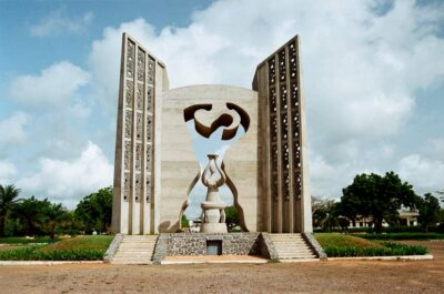 National monument of Togo - Independence Monument, Lome