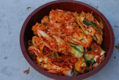 National Dish of South Korea - Kimchi