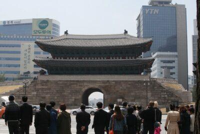 National monument of South Korea - Sungnyemun Gate
