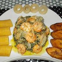National Dish of Cameroon - Ndolé