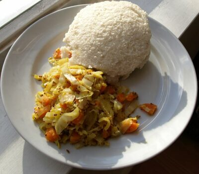 National Dish of Namibia - Pap