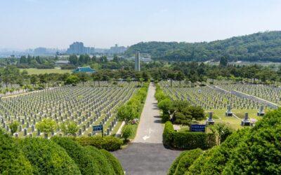 National mausoleum of South Korea - Seoul National Cemetery