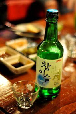 National drink of South Korea - Soju