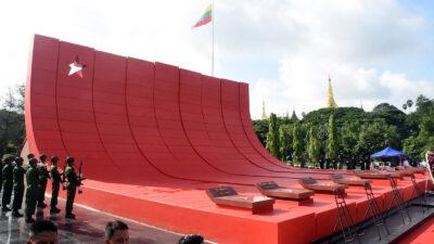 National mausoleum of Myanmar (Burma)