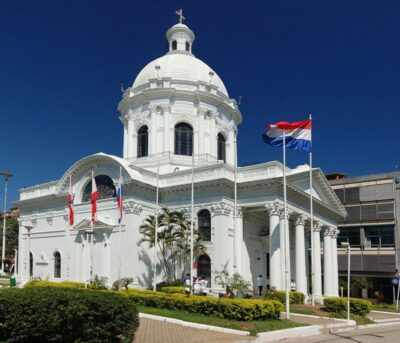 National monument of Paraguay - The National Pantheon of the Heroes