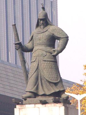 National hero of South Korea