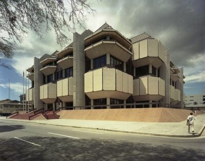 National monument of Trinidad & Tobago - Hall of Justice