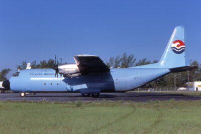 National airline of St Lucia
