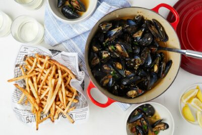 National Dish of Flanders - Moules-frites